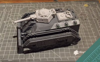 Building a Storm Chimera. Part 2: The top hull