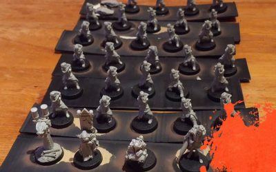 Painting Krieg Grenadiers. Part 1: Preparation