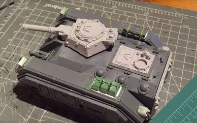 Building a Storm Chimera. Part 4: Track guard detail