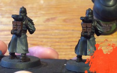Painting Grenadiers. Part 3: Washes