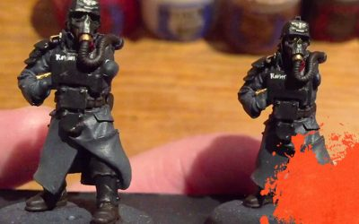 Painting Krieg Grenadiers. Part 4: Details & Highlights