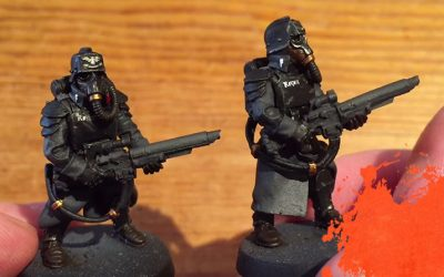 Painting Krieg Grenadiers. Part 6: Assembly