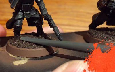 Painting Krieg Grenadiers. Part 7: Basing