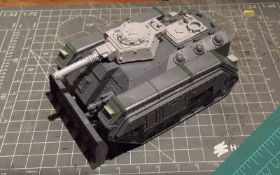 Building a Storm Chimera. Part 3: Track guards