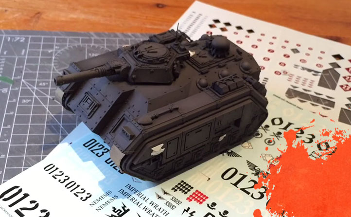 Painting a Storm Chimera. Part 3: Transfers