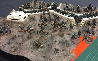 Armies of Parade 2016: Krieg Trench Board