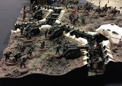 Armies on Parade trench board 2016