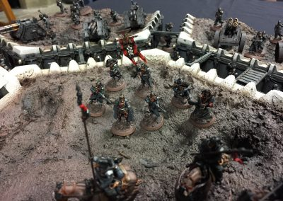 Armies on Parade: Close up of Company Command Squad