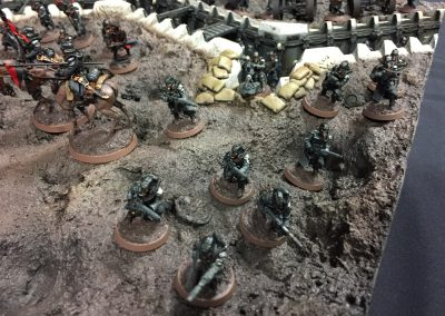 Armies on Parade: Closeup of Grenadiers