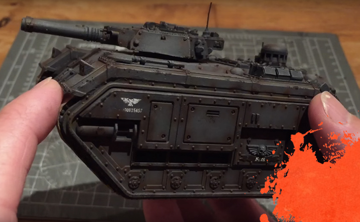 Painting a Storm Chimera. Part 4: Weathering