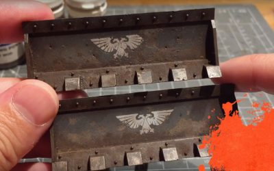 Painting a Storm Chimera. Part 5: Bulldozers