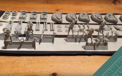 Building Krieg Rapier Battery. Part 1: Conversion