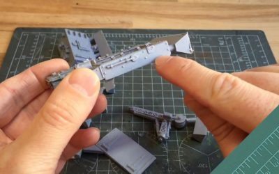Beginners guide to resin. Part 3: Removing mould lines