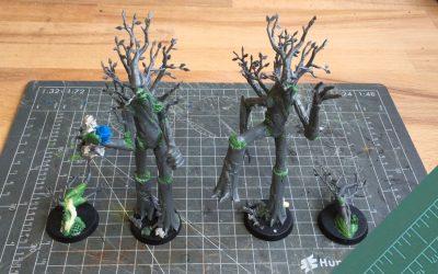 Building a Halfling team. Part 2: The Treemen