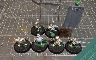 Building a Halfling team. Part 3: The Coaching Staff
