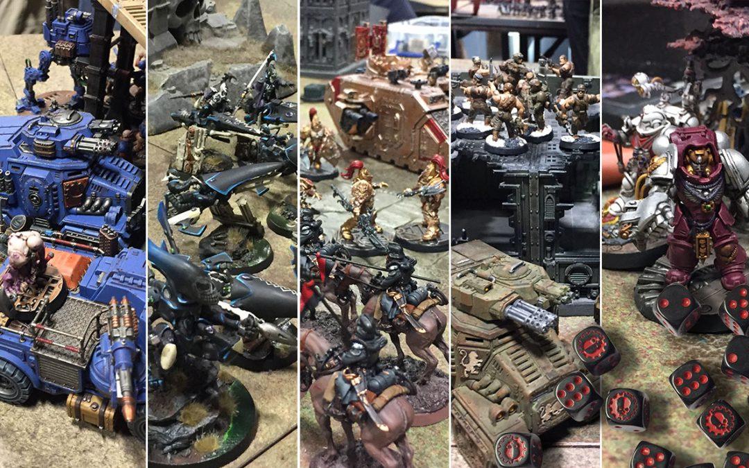 Warhammer 40k Grand Tournament: Heat 1