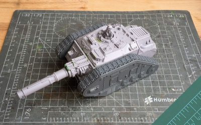 Building a Destroyer Tank Hunter. Part 1: Review & Build