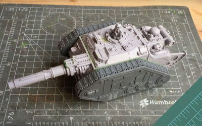 Building a Destroyer Tank Hunter. Part 3: Trench Rails & Filters