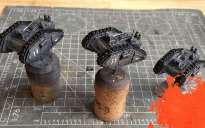 Painting a Cyclops. Part 2: Base colours and transfers