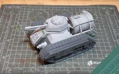 Building the Forgeworld Hellhound. Part 1: Review and Build