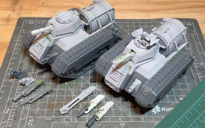 Building the Forgeworld Hellhound. Part 2: Devil Dog and Bane Wolf Weapons