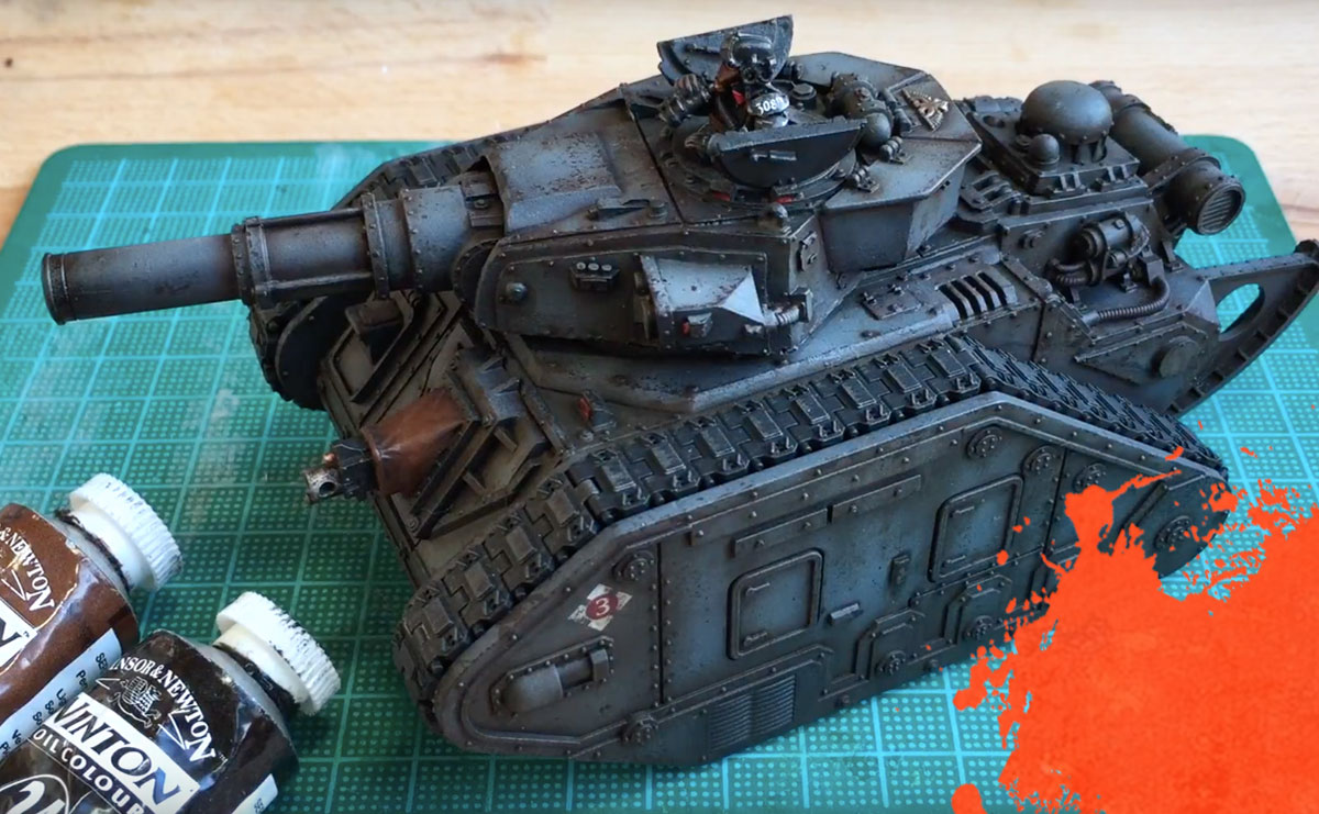 Painting Tanks Oil Wash Amp Weathering Effects Beyond The