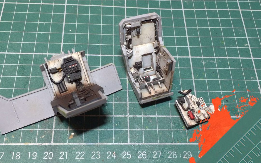 Build & Paint a Gorgon Transport. Part 3: Painting The Driver Cab