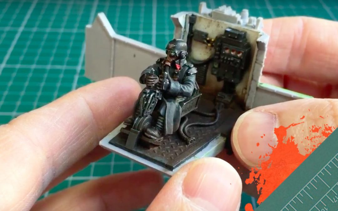 Build & Paint a Gorgon Transport. Part 4: Assembling the driver cab