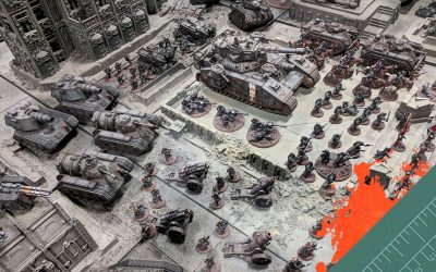 An Army on Parade: The 308th Death Korps of Krieg.