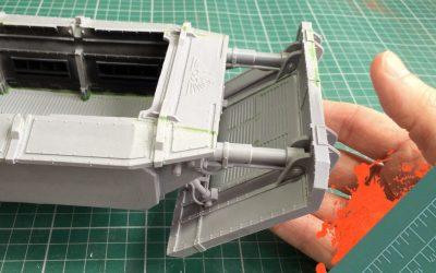 Build & Paint a Gorgon Transport. Part 8: The Assault Ram & Braces