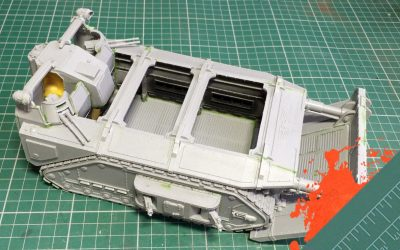 Build & Paint a Gorgon Transport. Part 9: Finishing The Main Build