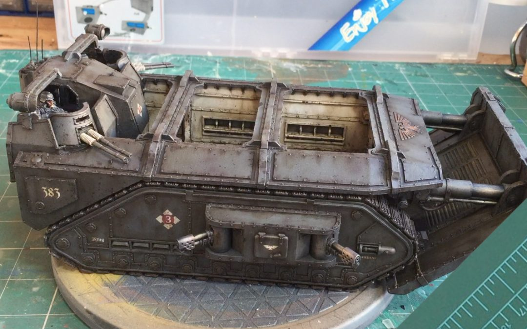 Build & Paint a Gorgon Transport. Part 11: Painting The Gorgon