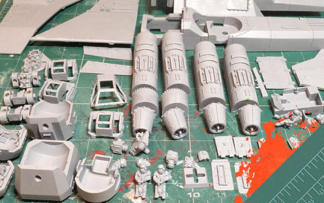 Build & Paint a Marauder Bomber. Part 1: Unboxing