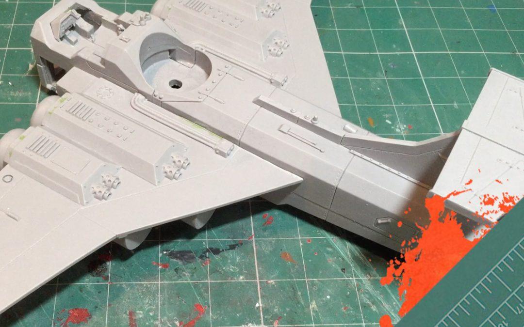 Build & Paint a Marauder Bomber. Part 2: The Airframe