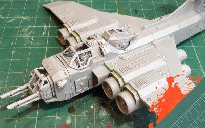 Build & Paint a Marauder Bomber. Part 3: Completing The Build