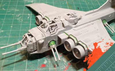 Build & Paint a Marauder Bomber. Part 4: Converting to a Marauder Destroyer