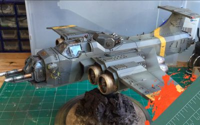 Build & Paint a Marauder Bomber. Part 6: Painting the Bomber