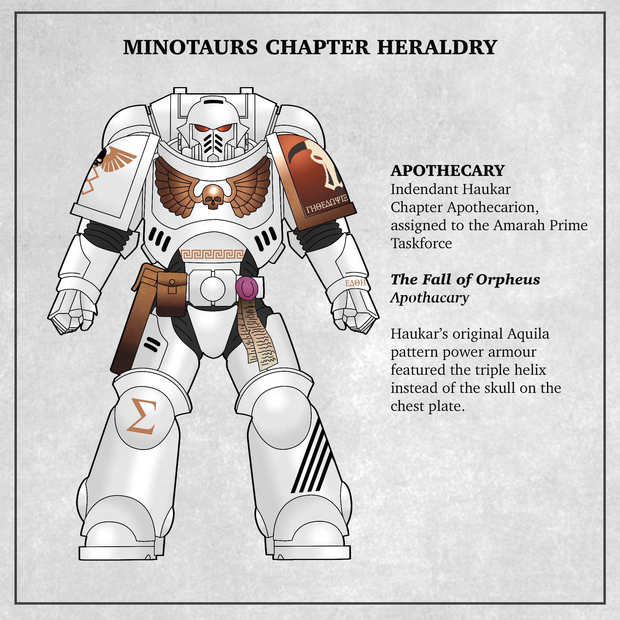 Minotaurs Apothacary Fall of Orpheus